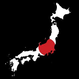 Japan COSMIC - Japan map png