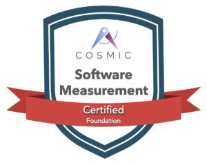 COSMIC Software sizing Certification Badge
